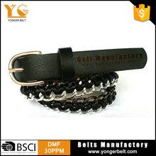 Chains Belt Wholesale Western Belts Fancy Woman Belt For Female