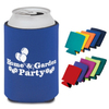 custom neoprene collapsible can cooler , can coolie