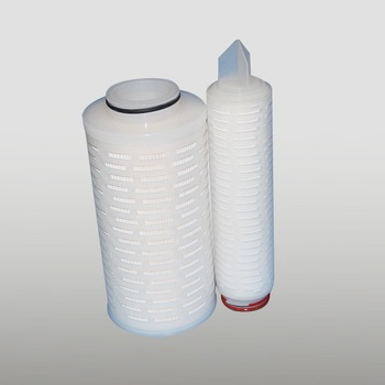 High efficiency reusable filter cartridge