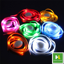 New Style LED Shoelaces with Continuous LED Shoelaces Shoe Laces