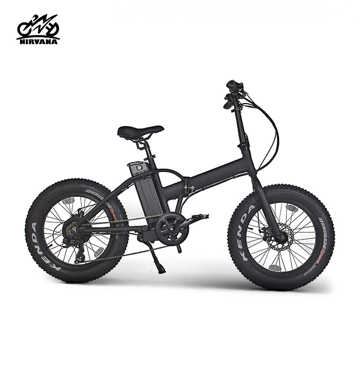 Fatbike alloy 20 inch 6 speeds fat tyre electric mountain bike chopper bicycle beach cruiser e bike