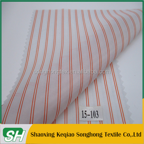 100% nylon 210t taffeta for garment lining