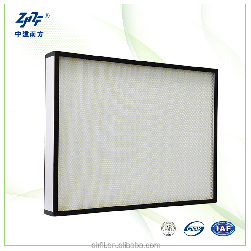 High efficiency fiberglass air filter hepa filters for air conditioner