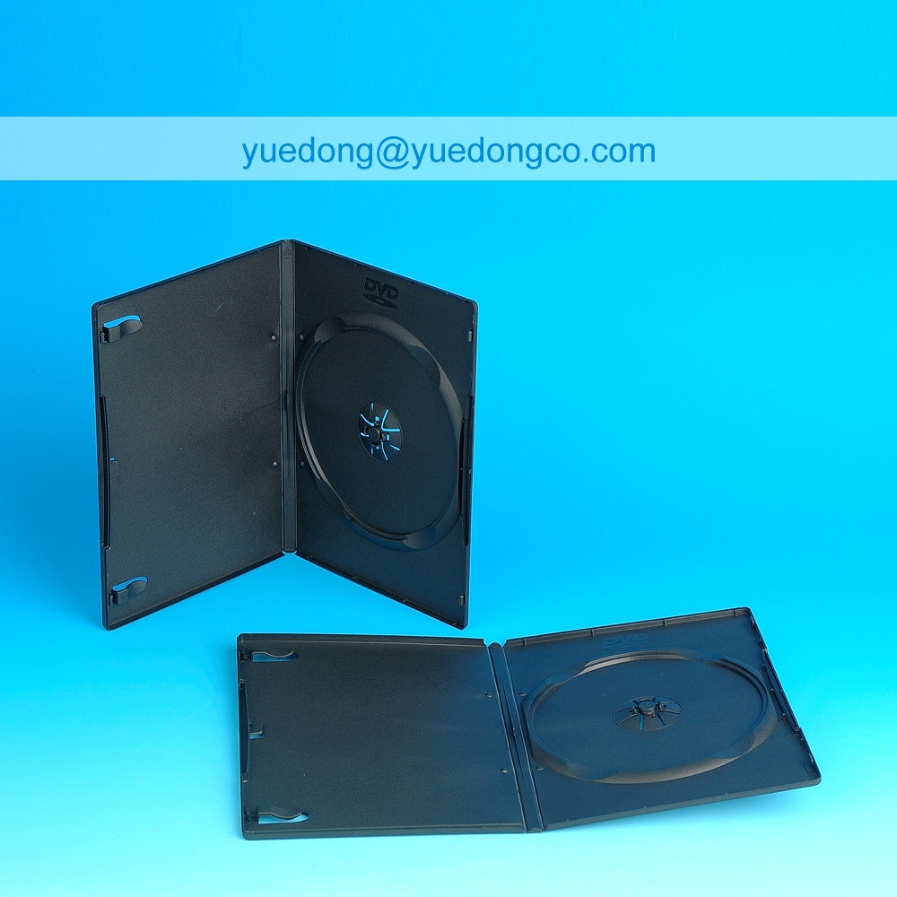 9MM BLACK SINGLE DVD CASE/DVD BOX/DVD COVER(YD-025-C)..YDD