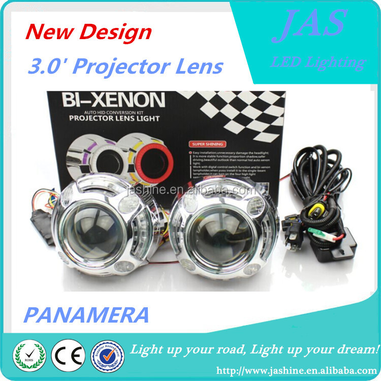 2015 HOT SELLING!!!Car headlight/LED DRL Projector lens Q5 projector lens cover/ panamera shrouds