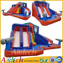 Popular commercial banzai inflatable water slide,China PVC water slide for sale