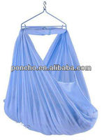 hanging sarong netting/sarong hammock/sarong cradle for baby