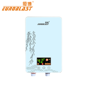 High quality multi function electric tankless water heater for household appliance