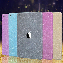 China Supplier Full Body Wrap Decals Diamond Bling Glitter Skin Sticker Protector Cover Case for iPad Mini 1 2 3 4