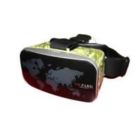 2017 latest fashion top design 3D vr virtual reality glasses for open hot sexy movies