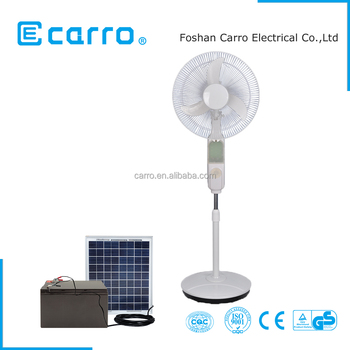 Hot sell newest model 12v 16inch charging fan price electric charging fan