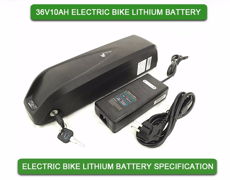 36V 10Ah HaiLong Lithium E-Bike Battery For 200W to 500W Electric Bicycle
