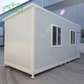 Low cost steel frame high quality prefab container house for sale