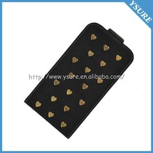 2014 New Product Leather Case for Samsung Galaxy S4 i9500 Cell Phone Accessories