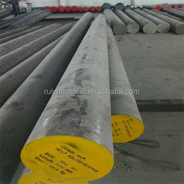 Round Bar C45 SAE1045 Hot Rolled Carbon steel price per kg on Alibaba