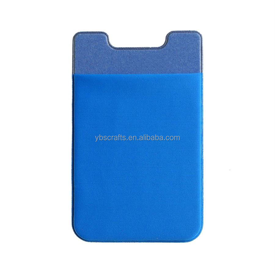 Mobile phone bags IC card holder sticker walllet for cellphone