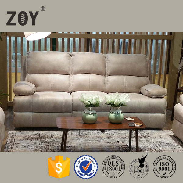 Lazy boy red leather home theater recliner sofa Zoy 9946A