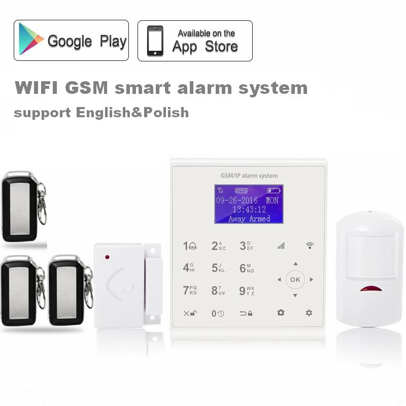 shenzhen manufacturers and suppliers wifi gsm gprs intruder security alarm contact id with motion detector infrared technology