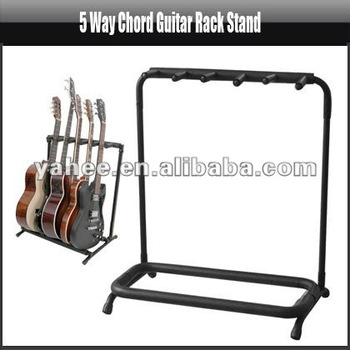 5 Way Chord Guitar Rack Stand,YAS113A