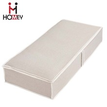 Factory Supplier Oem Large capacity folding cardboard underbed storage box for wholesale