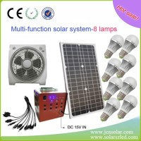 30W cheap DC home solar power system for sale