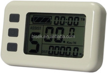 Electric Bike DIY Kit 8-Digit LCD Meter for e bike