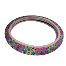 Shrink Monogrammed Car Steering Wheel Covers For Fashion Lady