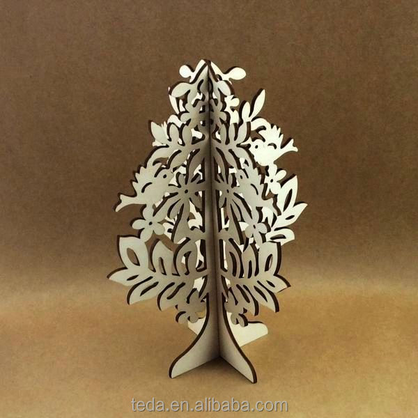 pressed flower,3d wood christmas tree,christmas statues
