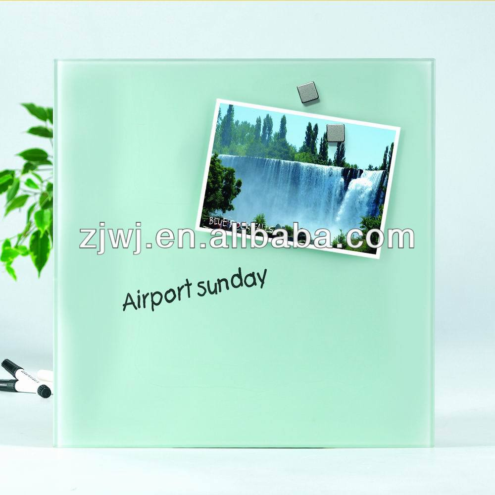 Jiangsu erasable Magnetic glass message board for home
