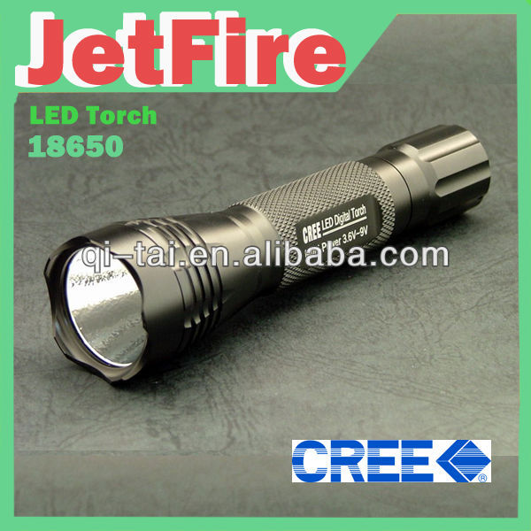 LED Torch Adjustable Focus Beam CREE Q5 Chargeable LED Flashlight Torch 3 modes Zoomable