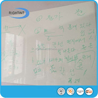 adhesive PET whiteboard film for wall sticker