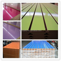 Display Slotted MDF slatwall accessories