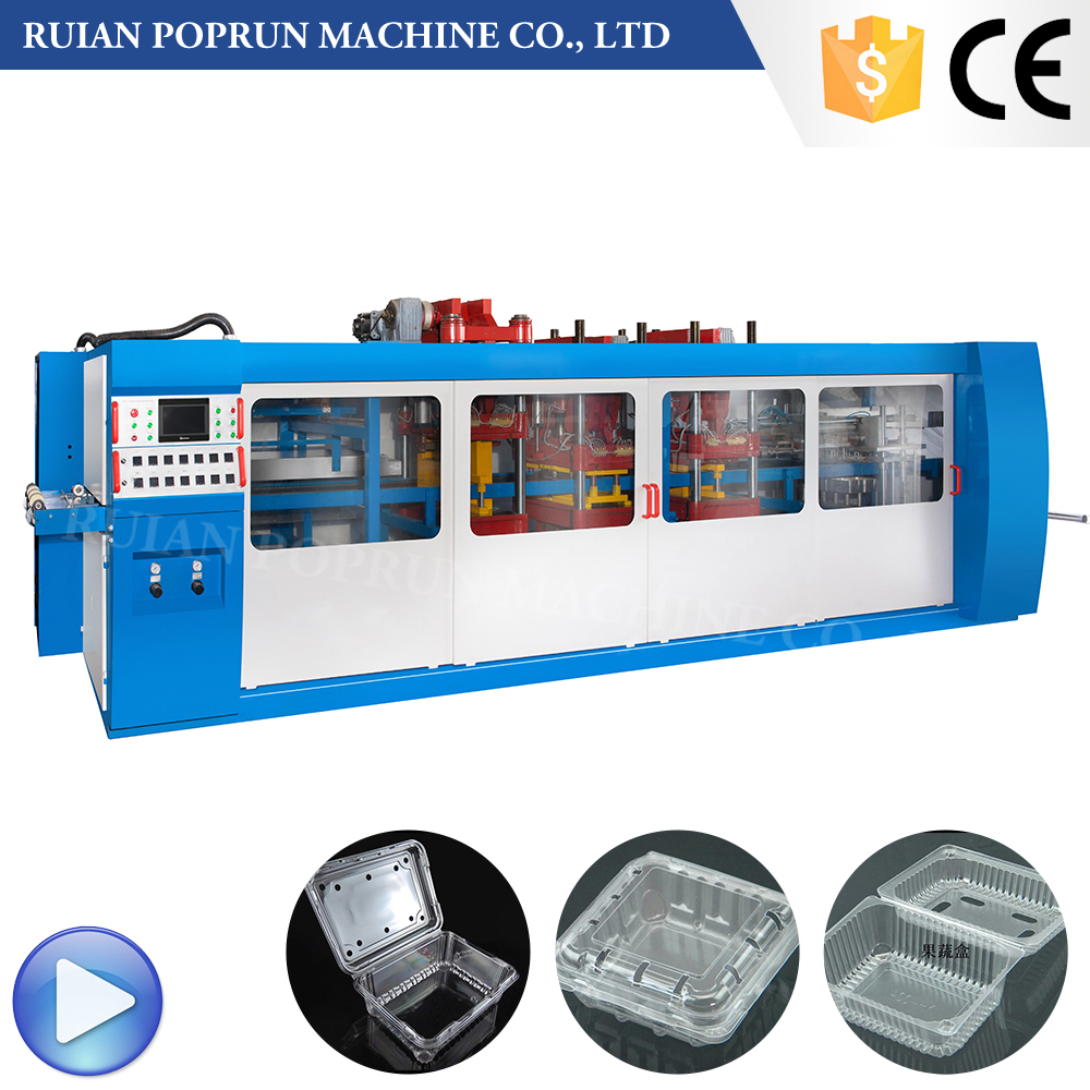 Automatic plastic cup lid price thermoforming machines