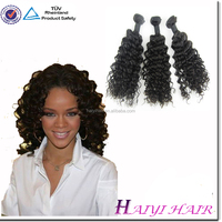 Large Stock Wholesale Remy Virgin Jerry Curl Human Hair For Braiding