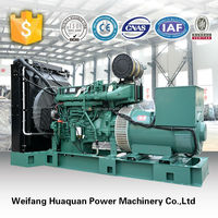 500Kw VOLVO Diesel Generator Set, WorldWide Brand Generator