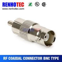 Video connector - F RCA to M BNC - pack of 4