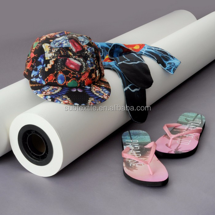 a3/a4 size and roll size 100g fast dry heat sublimation transfer paper for mugs/phone case and polyester fabric