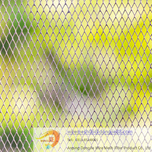"PVC coated chain link fencing wire for highway ,5/8"" chain link fence/Alibaba china classical chain link mini mesh fabric"