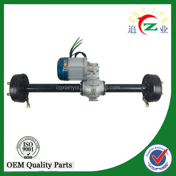 electric Rear Axles Gear motor Type differential rear axle assembly