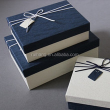 rectangle shaped Lowest Price Promotional navy Rectangle Party Favor Candy Box