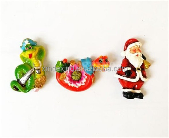 3d resin fridge magnet/customized ceramic fridge magnet/customize polyresin fridge magnet