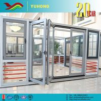 Hot selling high performance the newest design energy efficient pvc bathroom plastic door