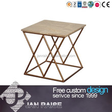 Solid structure marble side tables end table OK-103055