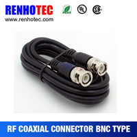 Male to male bnc coaxial rg59 RF cable