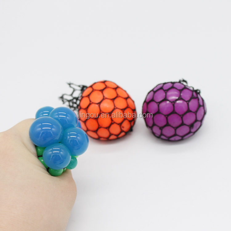 Hot Grape Stress Squishy mesh Ball Squishy Toys