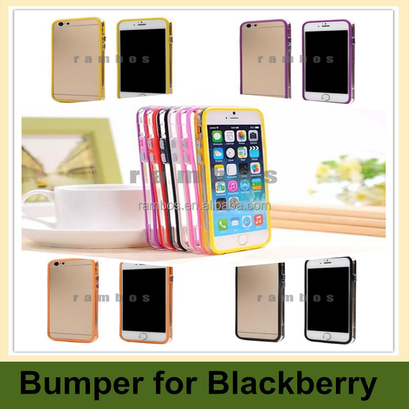 Soft TPU / PC Bumper Phone Case Cover Skin for Blackberry Z10 / Q5 / Q10