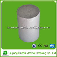 (rollo de gasa absorbente) Hydrophilic Disposable Open and Plain Gauze Roll