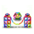 Customized magformers plastic children's magnetic building blocks