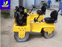 double drum roller in road construction machinery