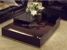 2014 modern interior furniture coffee table inlaid with mother of pearl. T-55A,B